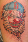 Red Sox Fan Clown