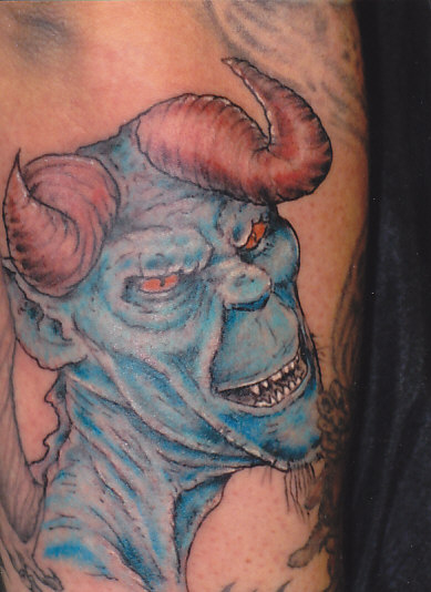 Angel Devil Tattoos Red and Blue. by on Nov.14, 2010, under