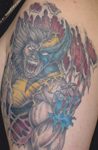 Comic-Book-Marvel-Wolverine-Scary-Bloody-Tattoo
