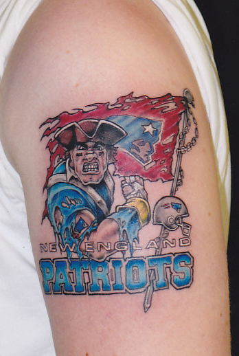 new england patriots tattoos