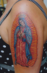 Mary-religious-color-Tattoo